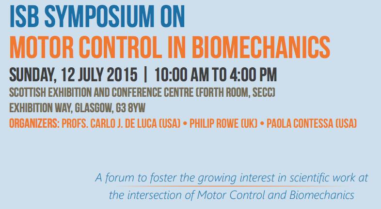 Motor Control Symposium