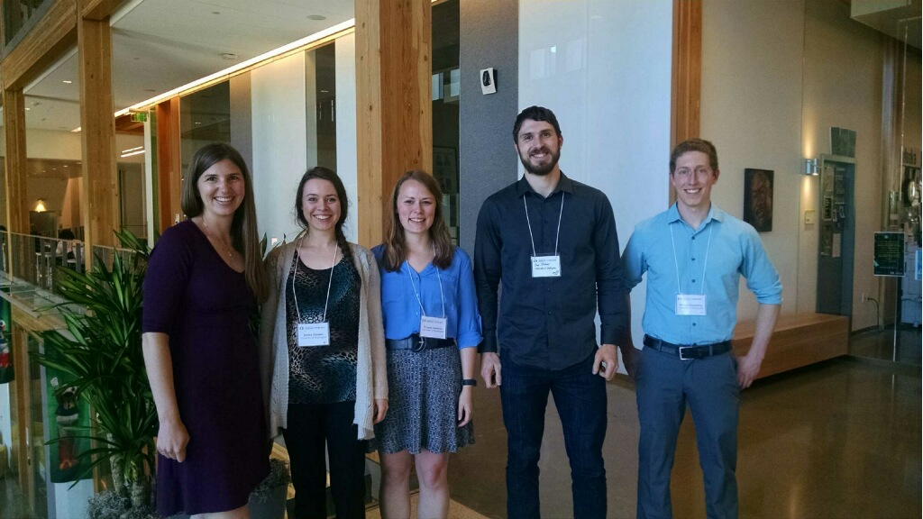 Lab members pose while at the Northwest Biomechanics Symposium 2017